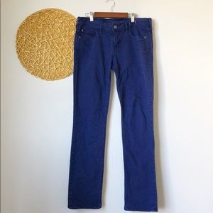Madewell | Rail Straight Blue colored Jeans